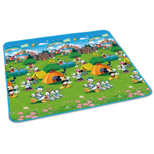 迪士尼户外野餐垫防滑防潮地垫超大加厚