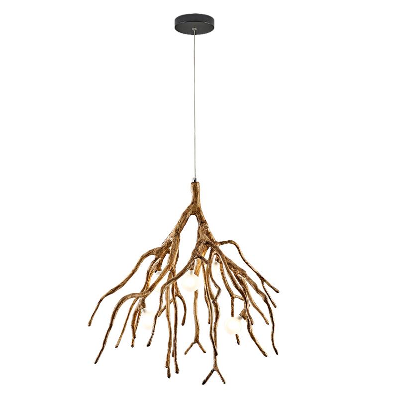 北欧吊灯创意个性树枝灯客厅灯餐厅日式灯网红民宿灯装饰茶室吊灯_图5