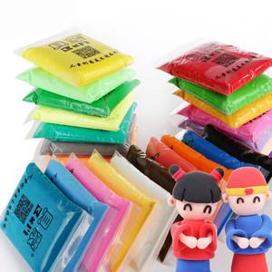 100 gram độc lập siêu nhẹ đất sét mẫu giáo Meilu bùn màu không độc hại plasticine không gian đất sét mềm đồ chơi trẻ em