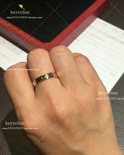 Live purchasing Cartire Cartier couple Love narrow version of k