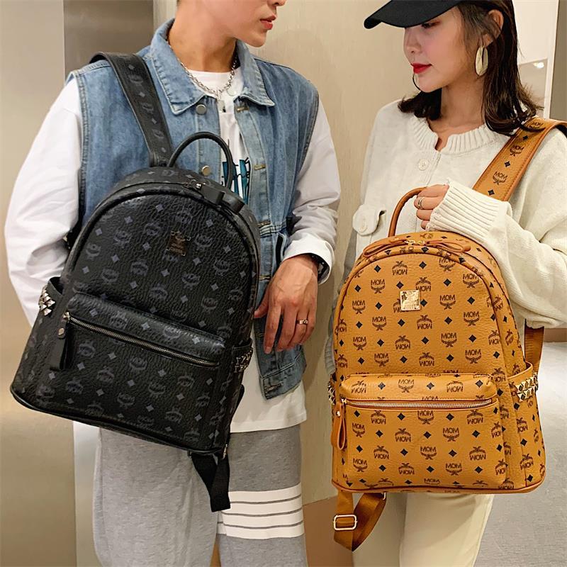 新款双肩包时尚潮牌学生书包旅行背包