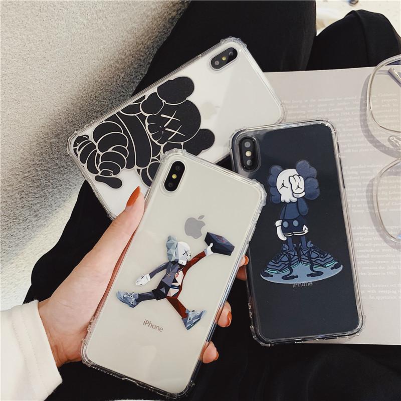 恶搞kaws公仔手机壳iPhonexsmax防摔8Plus硅胶软8x全包7Plus潮牌