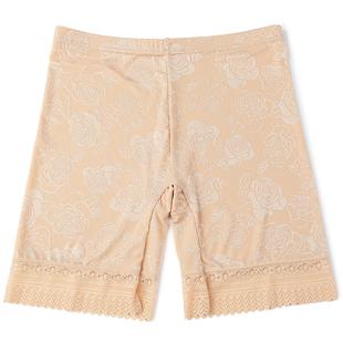 薄款蕾丝花边提花防走光短裤保险裤