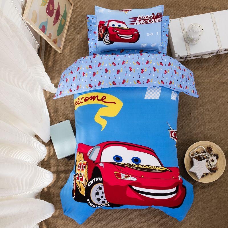 Bông trẻ em chăn mẫu giáo ba mảnh bông bé nap quilt quilt suite giường thiết lập với lõi sáu mảnh