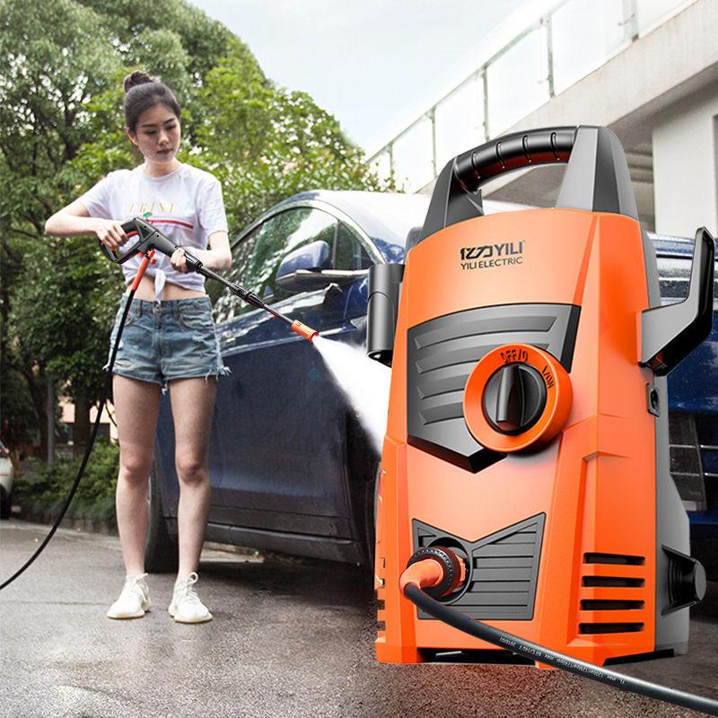 亿力高压洗车机神器工具高压家用220V水泵强力清洗机水枪