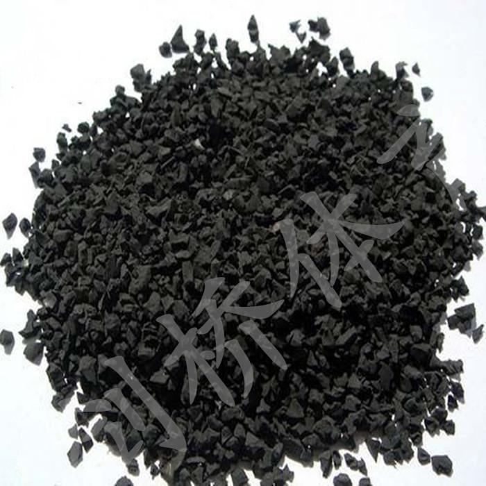 黑色沙包橡胶粒颗弹性塑料颗粒哪卖环保材料EPDM地坪地面施工报价
