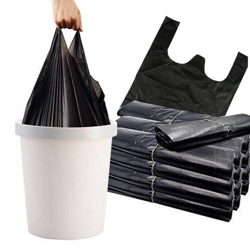 加厚手提式背心式垃圾袋50只