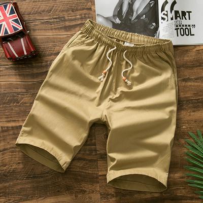 Thanh thiếu niên mùa hè 13-14-15-16-17 tuổi cậu bé quần short giản dị junior học sinh trung học năm quần vành đai đàn hồi