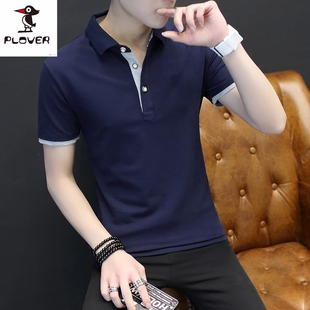 啄木鸟新款男士polo衫短袖T恤