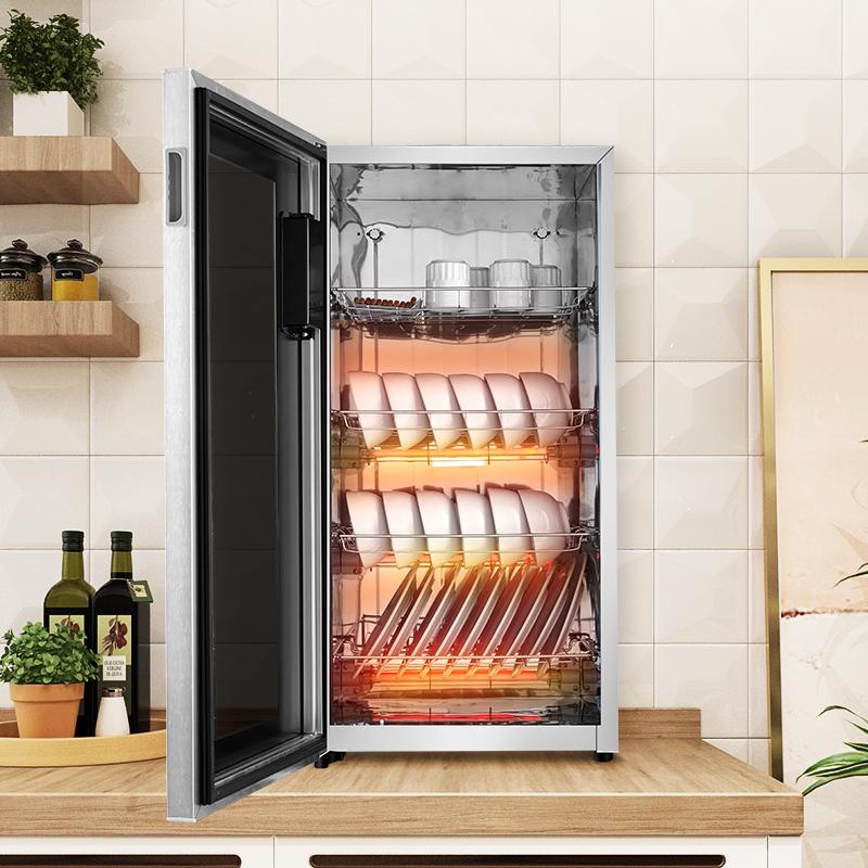 好太太家用立式消毒柜挂壁式高温消毒