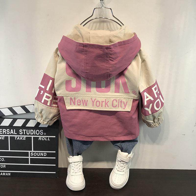 童装男童秋装夹克2020新款洋气宝宝外套时髦儿童秋冬季夹棉外套潮