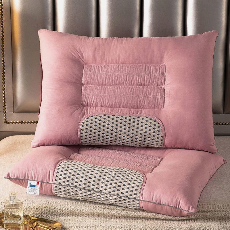 正品磁石升级版枕头芯一对装一只装枕套套装决明子单双人枕头