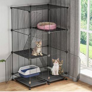 猫笼子别墅特价三层家用室内猫舍带厕所超大