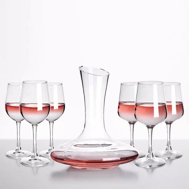 欧式红酒杯无铅玻璃高脚杯子葡萄酒杯醒酒器