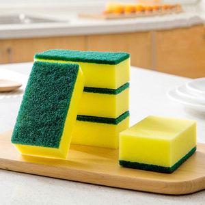 【超值加厚加密】百洁布海绵洗碗布洗碗刷锅海绵擦抹布海绵刷