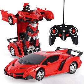 变形遥控汽车金刚机器人电动玩具遥控车