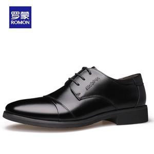 出口量国内第一 罗蒙 男士春夏款 商务休闲皮鞋 主图