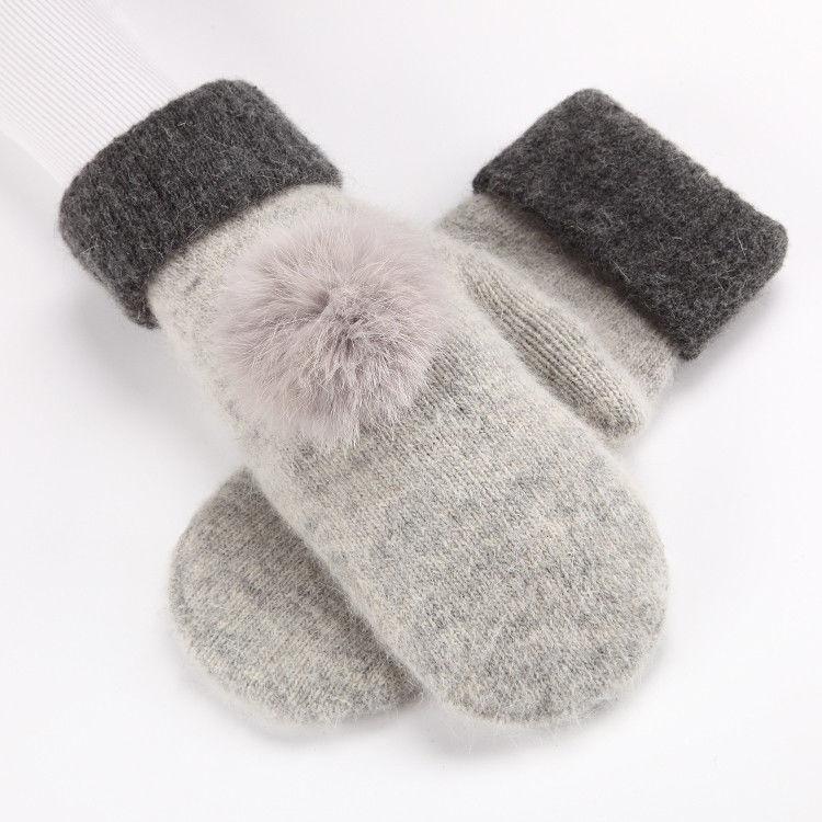 第二手套女冬加绒加厚保暖双层骑车包套