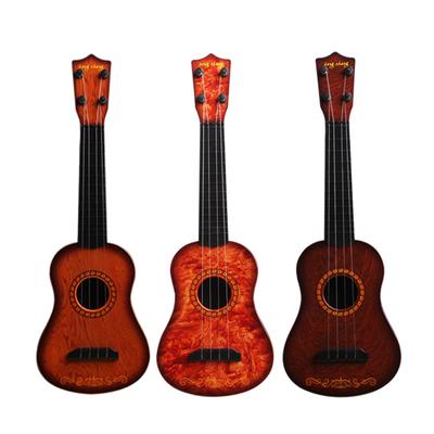 儿童吉他玩具尤克里里可弹奏仿真乐器小男女孩初学音乐琴宝宝礼物