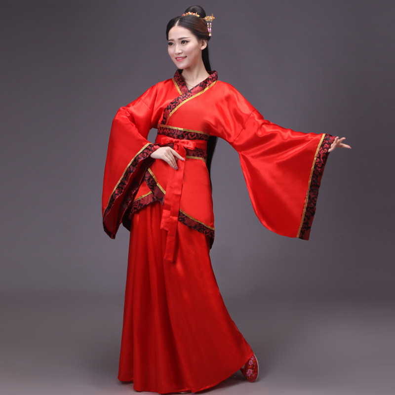 Historical costume fairy costume Hanfu wide-sleeved female Tang clothing Han Tang clothing female Hanfu female underskirt wide sleeves