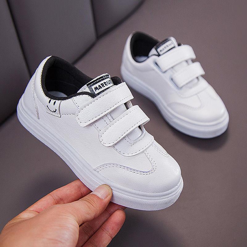 儿童小白鞋春秋新款女童鞋小学生