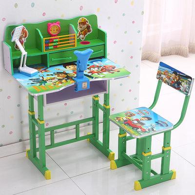 儿童书桌家用学习桌可升降小孩子作业桌简约课桌学生写字桌椅套装