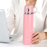智能测温304大容量不锈钢保温杯男女学生杯子韩版便携户外水杯子