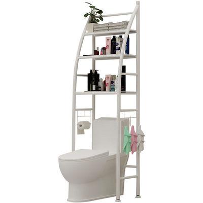 卫生间浴室置物架壁挂落地厕所洗手间洗衣机坐便器马桶架收纳神器