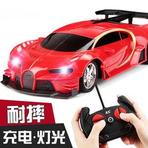 儿童玩具车遥控汽车小孩男孩赛车电动可充电遥控车漂移小汽车玩具