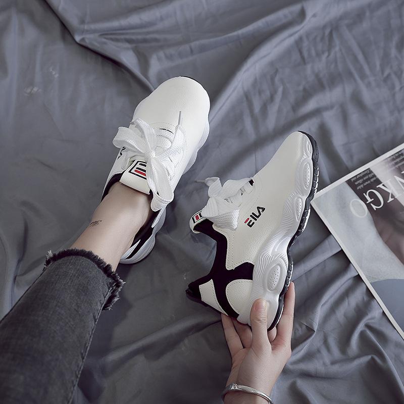网红鞋女春季新款休闲老爹鞋女韩版