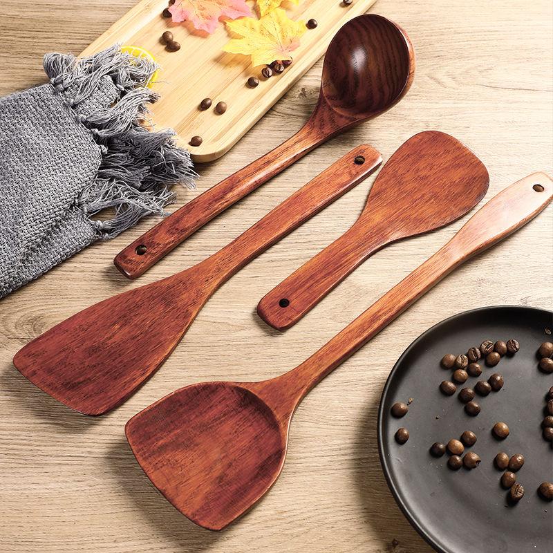 家用锅铲木铲子木勺不粘锅专用长柄炒菜铲子