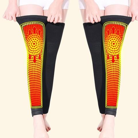 南极人艾草自发热护膝盖保暖男女士冬季中老年老寒腿护腿套护肘宝