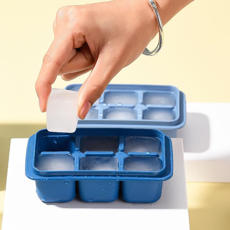 冰块模具家用冰箱制冰盒子带盖冰格商用冰块