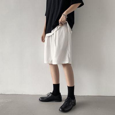 冰丝休闲短裤男士超薄款透气宽松韩版潮流速