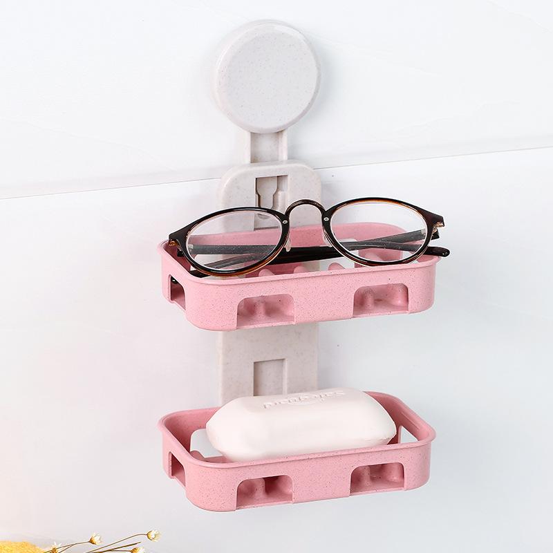 创意浴室皂架置物免打孔壁挂-券后13.90元