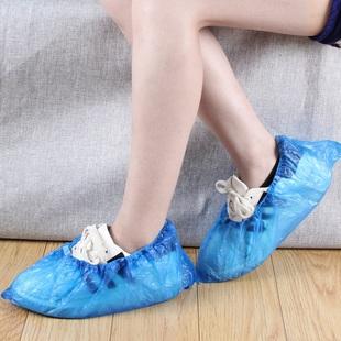 【50只装】鞋套一次性加厚防尘鞋套