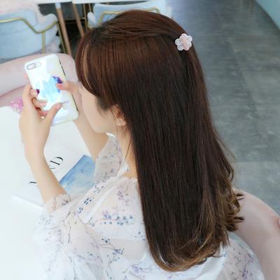 高档醋酸几何发夹抓夹韩国发卡头饰简约少女风刘海夹顶夹饰品