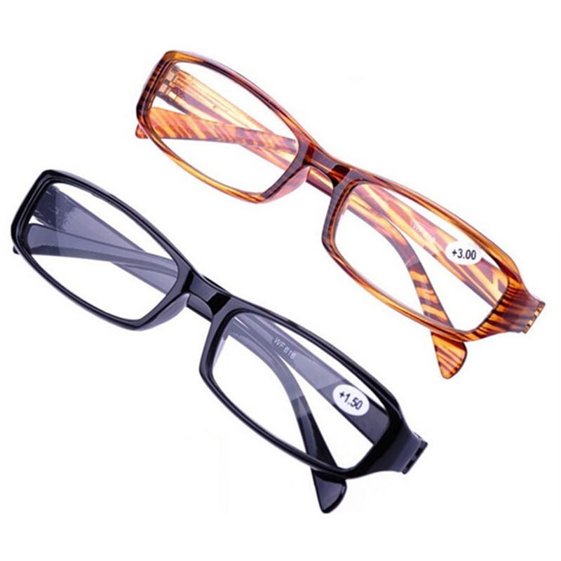 买2送1时尚老花镜老光镜树脂老花眼镜远视镜 男女式便携老人花镜