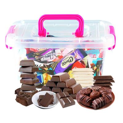 黑白巧克力500g【送收纳盒】