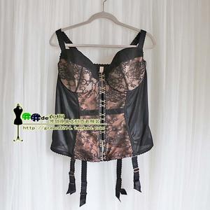 Châu âu và Hoa Kỳ duy nhất mới kích thước lớn nữ áo ngực dây đeo móc xương cá hình vest thép vòng cốc mỏng corset 95CDE