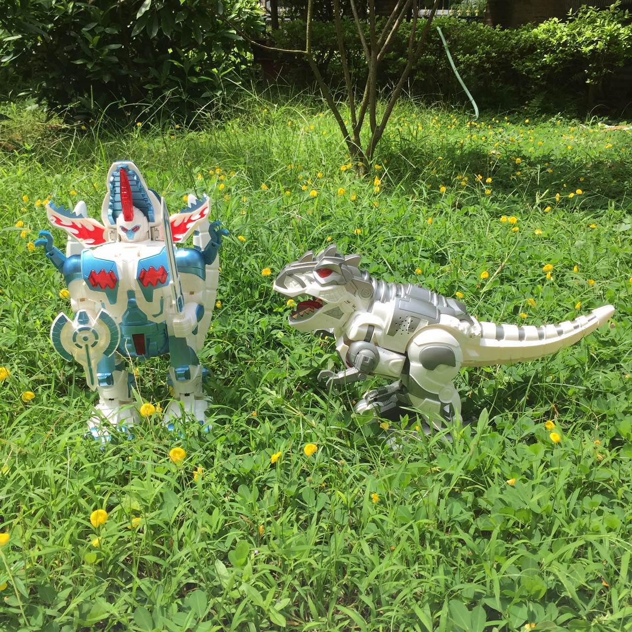 Chính hãng Khủng Long Lớn Tyrannosaurus Rex Cử Chỉ Quy Nạp Biến Dạng Điều Khiển Từ Xa Thông Minh Dancing Robot Đồ Chơi Món Quà Cậu Bé