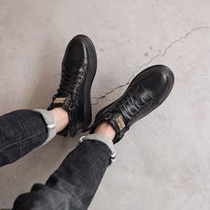 电商A303-86638-P135男士高帮鞋韩版短靴中邦休闲运动滑板鞋男