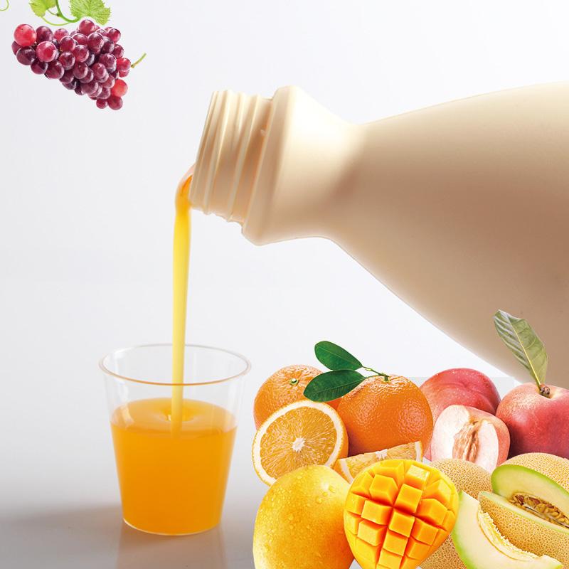 gaga鲜语产地综合果汁水果茶缤果味酱浓缩果汁水果茶酱原料2kg_淘宝优惠券