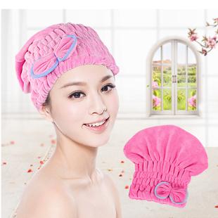 洗头帽成人干发帽包头巾超强吸水韩国可爱成人浴帽速干加厚干发帽