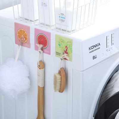 创意厨房浴室强力粘胶挂钩门后粘钩无痕墙壁吸盘挂钩壁挂免钉钩子