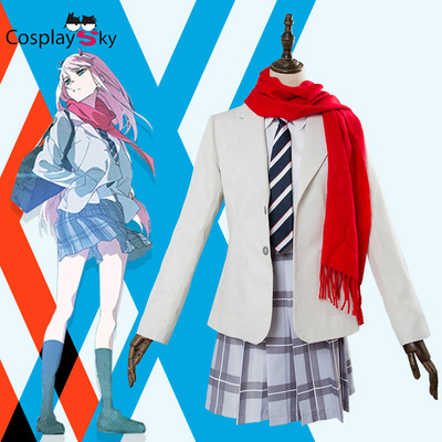taobao agent CosplaySky DARLING in the FRANXX ending song 02cos uniform cosplay costume