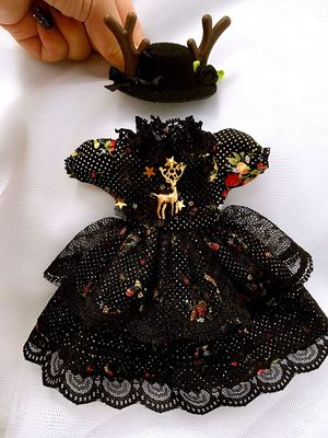 taobao agent 【2 sets of free shipping in stock】bjd holala 1/64 points, doll clothes, dresses, giant baby clothes, 3 points