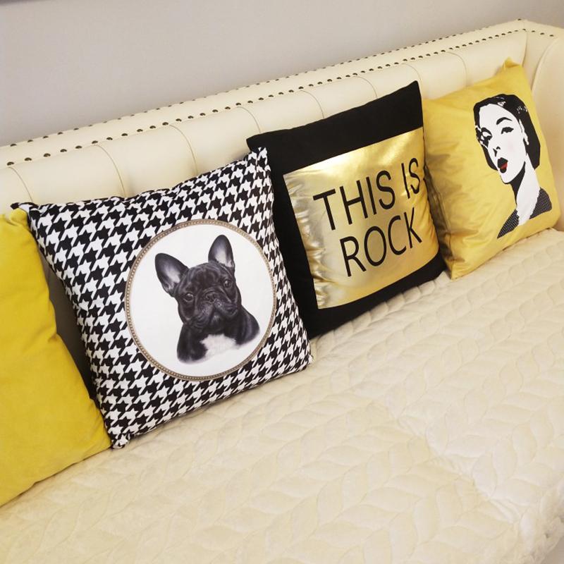 北欧几何简约自主搭配沙发靠枕抱枕