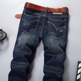 秋冬款弹力牛仔裤男青年休闲长裤