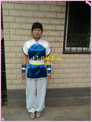 taobao agent Legend of the Sword and Fairy One Zhao Linger cos clothing blue cloak of the Holy Spirit Anime game cosplay clothing